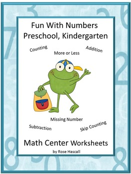 Math Review Preschool,Counting, Addition, Subtraction. Sor