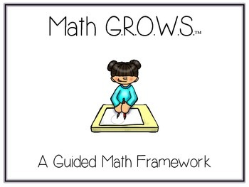 Math G.R.O.W.S. - Ultimate Guided Math Pack - Posters, Sig
