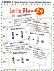 Fractions - 'Let's Play 24' Fraction Challenge - 96 Math T