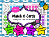 FREE Math Game: Match 6 Cards Addition Subtraction Multipl