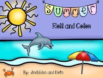 Summer Math Dice Game