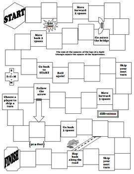 Math Gameboard