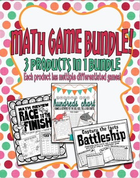 Math Games Bundle!