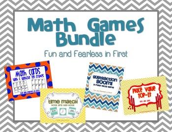 Math Center Games Bundle