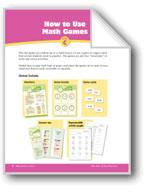 Math Games (Grades 2-3): How to Use & Make Math Games
