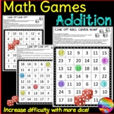Math Games Teach ADDITION **Math Centers  *Different Level