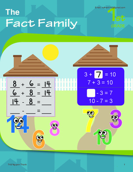 Math - Grade 1 - Full Curriculum - Game: All in the fact family