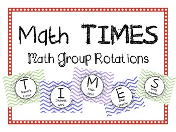 Math Group Rotations