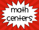 Math & Guided Reading Center Signs