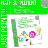 First Grade Math Homework: Unit 3