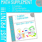 Math Guiding Kinders: Math Supplement UNIT 4
