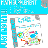 Math Guiding Kinders: Math Supplement UNIT 7