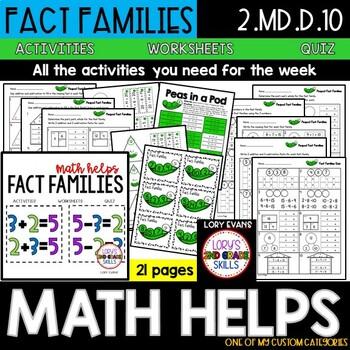 Fact Families  2.NBT.B.9  2nd Grade Math Helps