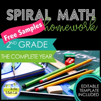 Math Homework 2nd Grade - FREE Samples