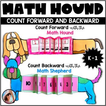 Math Hound and Math Shepherd Counting Activities/Craftivit