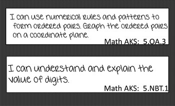 Math-I Can Statement AKS (GCPS)