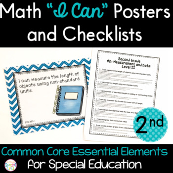 "Math ""I Can"" Statements for Common Core Essential Elements"