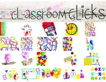 Math Images BUNDLE: Hi Res Images for Bloggers & Teacherpreneurs