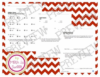 Math In Focus - Grade 2 - Chapter 2 (Add to 1,000) Review/Test