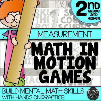 Math In Motion - Hands-On Math Games - Measurement