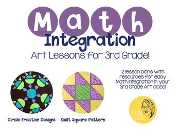 Math Integration Lessons for Visual Art- Third Grade