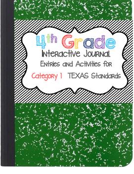 Interactive Notebook - 4th Grade Math - Texas Standards 1