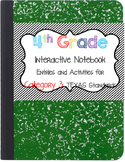 Math Interactive Notebook 4th Grade Texas Standards 3