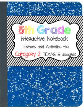 Math Interactive Notebook 5th Grade Texas Standards 2