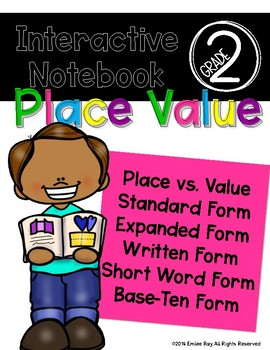 Math Interactive Notebook - Place Value