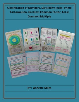 Math Interactive Notebook - The Number System
