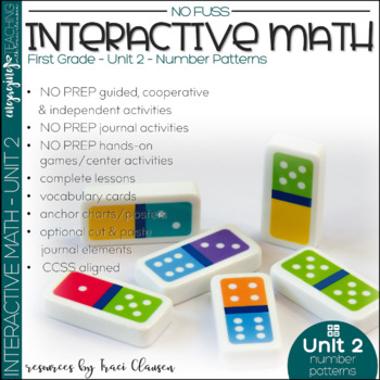 Math Interactive Notebook and MORE! 1st Grade Unit 2