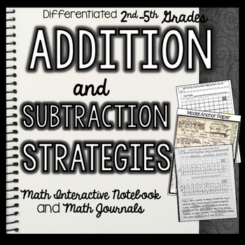Math Interactive Notebook and Math Journal: Addition/Subtr