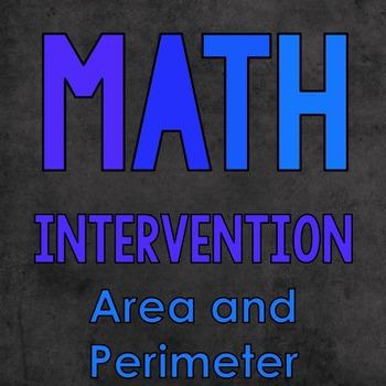 Area and Perimeter {Math Intervention}