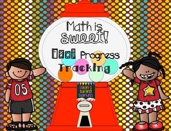 Math Is Sweet! Whole Class Gumball Math Fact Progress Tracking