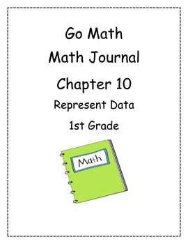 Go Math! Math Journal Activities for Grade 1, Chapter 10