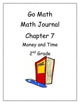 Go Math! Math Journal Activities for Grade 2, Chapter 7