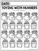 Math Journal December (Kindergarten)