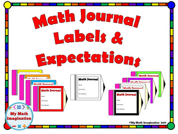 Math Journal Labels and Expectations