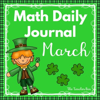 Kindergarten - Special Education - Math Daily Journal Marc