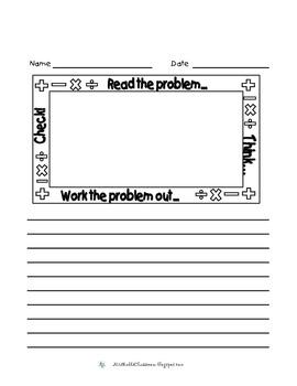 Math Journal Paper Bundle