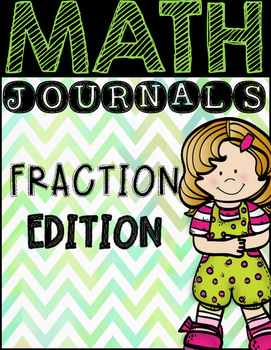 Math Journal Prompts:  Fractions
