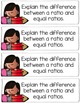 5th Grade Ratio & Percent Math Journal