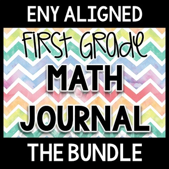 First Grade Math Journal through the Year