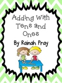 Math Journal adding with tens and ones