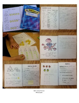 Interactive Math Journal for Singapore Math 1A or Math in Focus