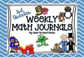 Math Journals 3rd Q themes