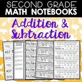 Math Journals: Addition and Subtraction for Second Grade