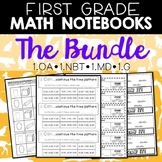 Math Journals: First Grade Bundle