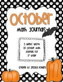 Math Journals {October}