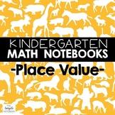 Math Journals: Place Value Printables-Kdg